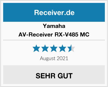 Yamaha AV-Receiver RX-V485 MC Test