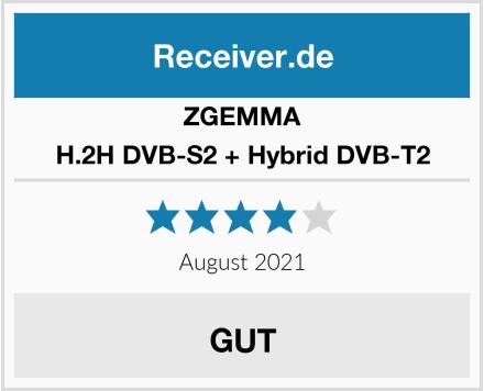 ZGEMMA H.2H DVB-S2 + Hybrid DVB-T2 Test