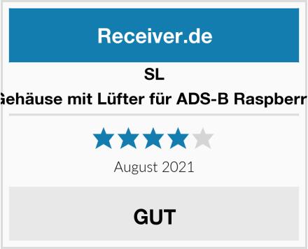 SL Gehäuse mit Lüfter für ADS-B Raspberry Test