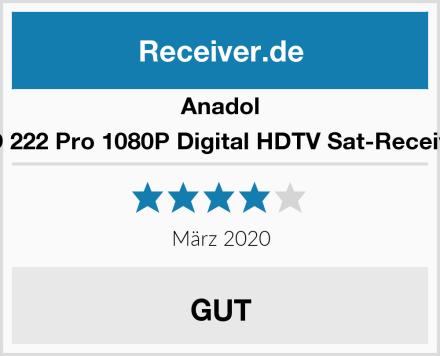 Anadol HD 222 Pro 1080P Digital HDTV Sat-Receiver Test