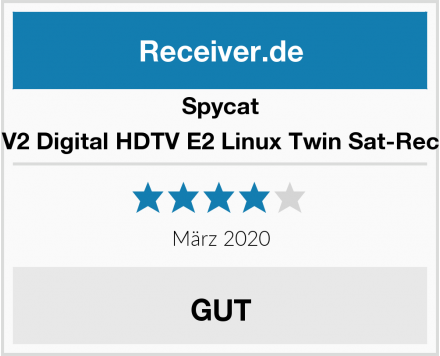 Spycat Mini V2 Digital HDTV E2 Linux Twin Sat-Receiver Test