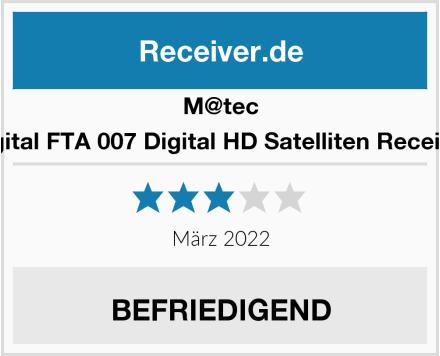 M@tec Digital FTA 007 Digital HD Satelliten Receiver Test