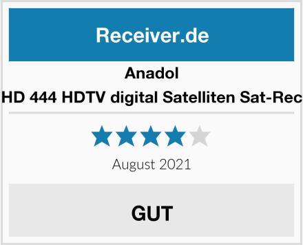 Anadol ADX HD 444 HDTV digital Satelliten Sat-Receiver Test