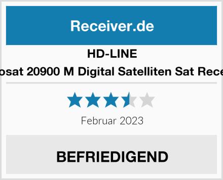 HD Line Echosat 20900 M Digital Satelliten Sat Receiver Test