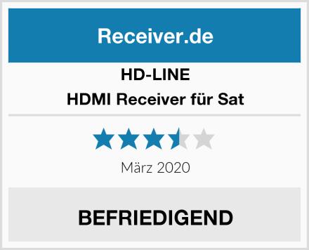 HD Line HDMI Receiver für Sat Test