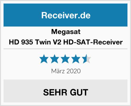 Megasat HD 935 Twin V2 HD-SAT-Receiver Test
