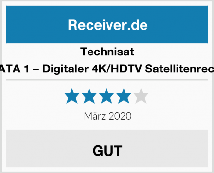Technisat SONATA 1 – Digitaler 4K/HDTV Satellitenreceiver Test