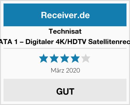 Technisat SONATA 1 – Digitaler 4K/HDTV Satellitenreceiver Test