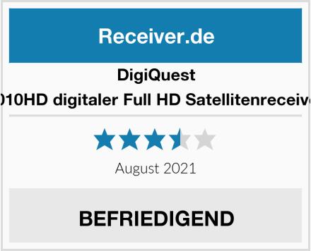 DigiQuest 8010HD digitaler Full HD Satellitenreceiver Test