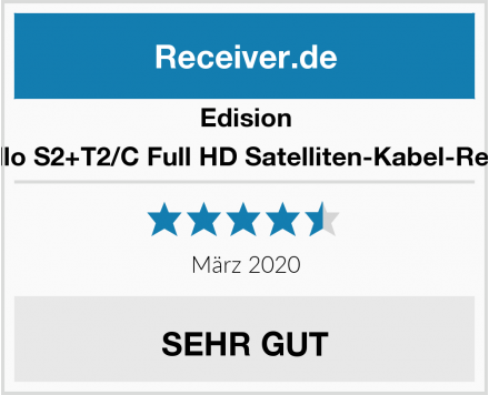 Edision Piccollo S2+T2/C Full HD Satelliten-Kabel-Receiver Test