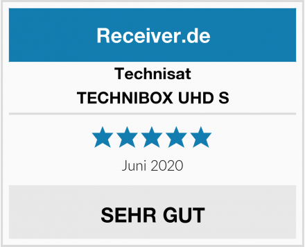 Technisat TECHNIBOX UHD S Test