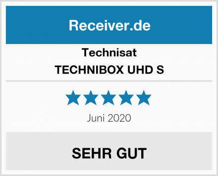 Technisat TECHNIBOX UHD S Test