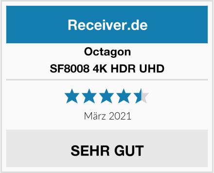 Octagon SF8008 4K HDR UHD Test