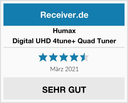 Humax Digital UHD 4tune+ Quad Tuner Test