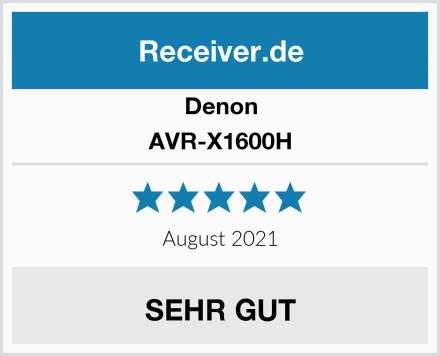 Denon AVR-X1600H Test