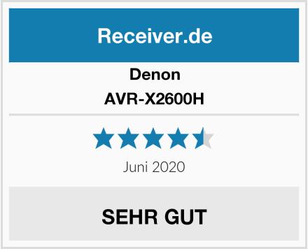 Denon AVR-X2600H Test