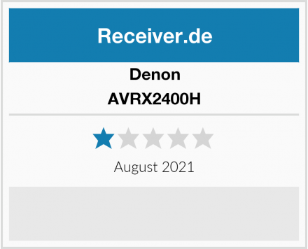 Denon AVRX2400H Test
