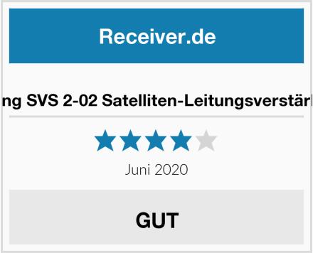 Axing SVS 2-02 Satelliten-Leitungsverstärker Test