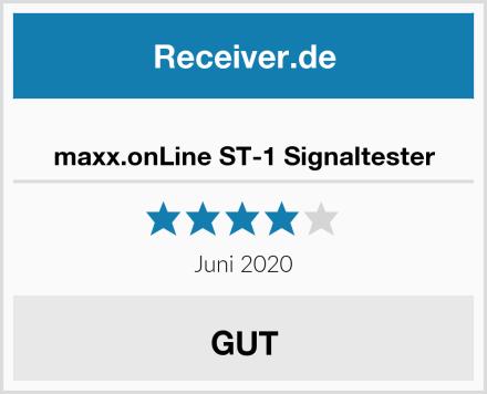 maxx.onLine ST-1 Signaltester Test