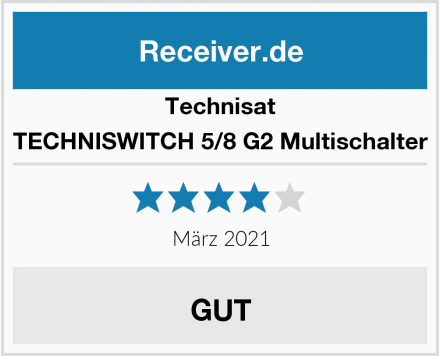 Technisat TECHNISWITCH 5/8 G2 Multischalter Test
