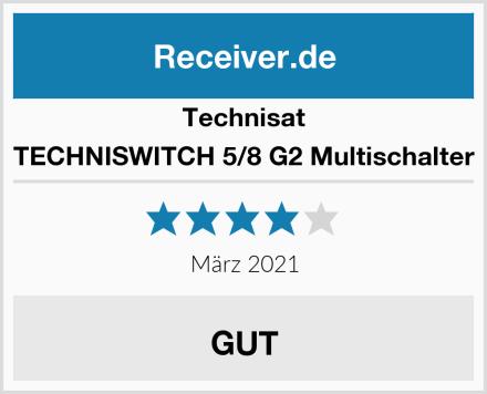 Technisat TECHNISWITCH 5/8 G2 Multischalter Test