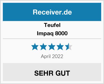 Teufel Impaq 8000 Test