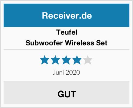 Teufel Subwoofer Wireless Set Test