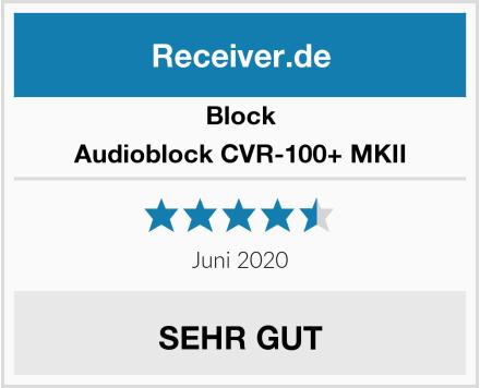 Block Audioblock CVR-100+ MKII Test
