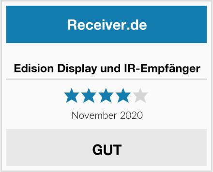 Edision Display und IR-Empfänger Test