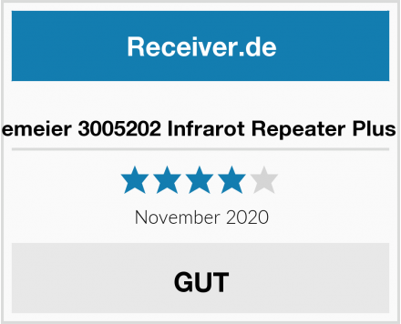 Halemeier 3005202 Infrarot Repeater Plus Set Test