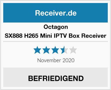 Octagon SX888 H265 Mini IPTV Box Receiver Test