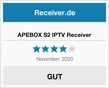 APEBOX S2 IPTV Receiver Test