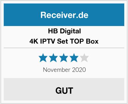 HB Digital 4K IPTV Set TOP Box Test