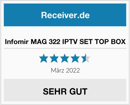 Infomir MAG 322 IPTV SET TOP BOX Test