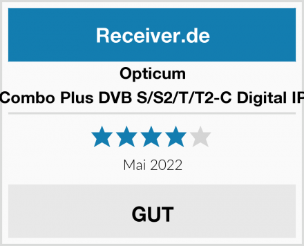Opticum HD Sloth Combo Plus DVB S/S2/T/T2-C Digital IP Receiver Test