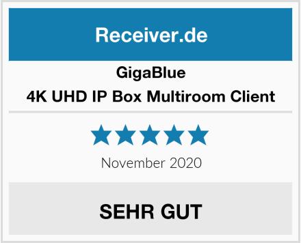 GigaBlue 4K UHD IP Box Multiroom Client Test
