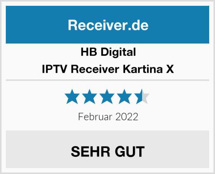 HB Digital IPTV Receiver Kartina X Test