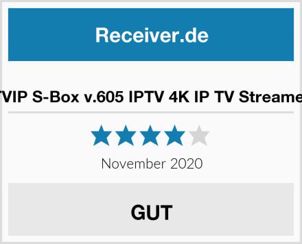 TVIP S-Box v.605 IPTV 4K IP TV Streamer Test