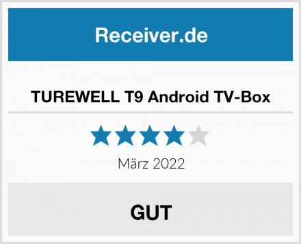 TUREWELL T9 Android TV-Box Test