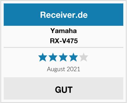 Yamaha RX-V475 Test