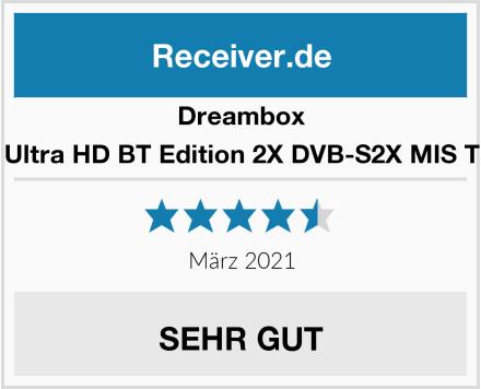 Dreambox One Ultra HD BT Edition 2X DVB-S2X MIS Tuner Test