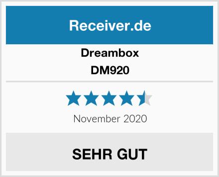 Dreambox DM920 Test
