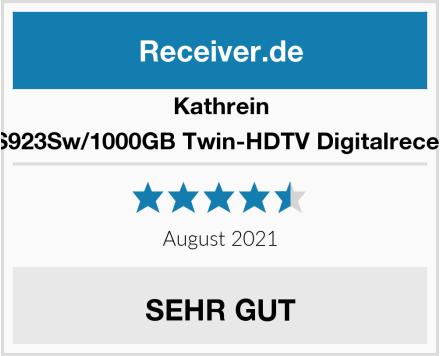Kathrein UFS923Sw/1000GB Twin-HDTV Digitalreceiver Test