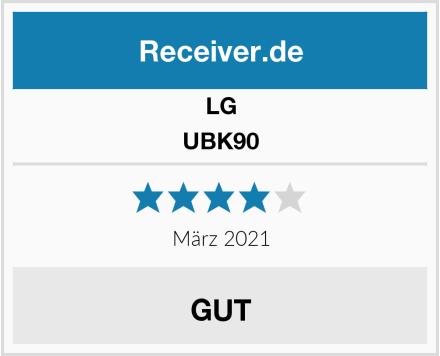 LG UBK90 Test