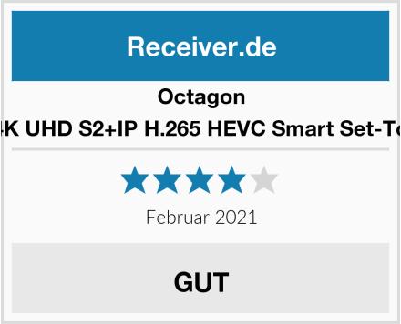 Octagon SX88 4K UHD S2+IP H.265 HEVC Smart Set-Top Box Test