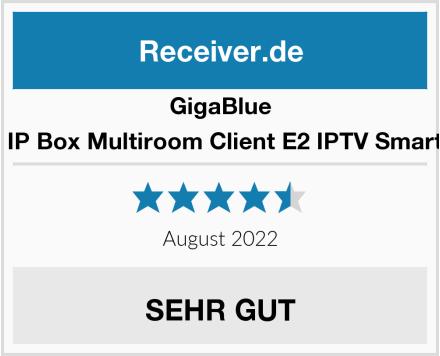 GigaBlue 4K UHD IP Box Multiroom Client E2 IPTV Smart TV Box Test