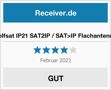 Selfsat IP21 SAT2IP / SAT>IP Flachantenne Test