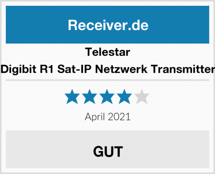 Telestar Digibit R1 Sat-IP Netzwerk Transmitter Test