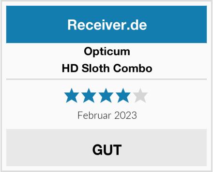 Opticum HD Sloth Combo Test