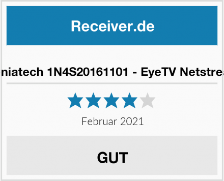 Geniatech 1N4S20161101 - EyeTV Netstream Test